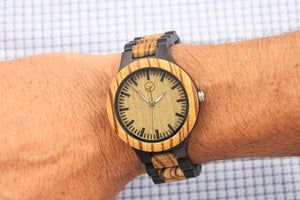 Vilo Mens Wooden Watch // Duke: