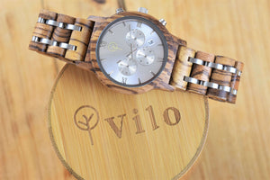 Mens Wooden Watch // Knight: Vilo