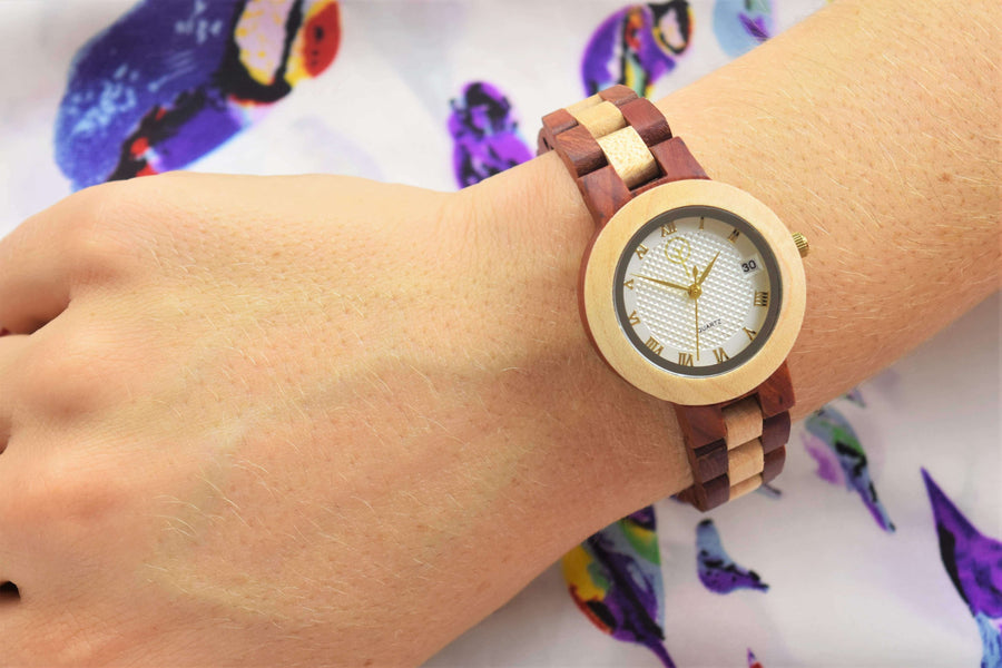 Vilo Womens Wood Watch // Harmony: