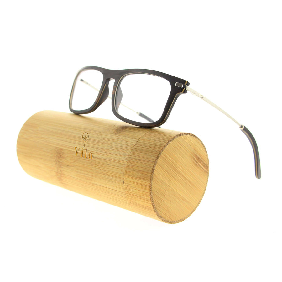 Vilo Optical Wooden Glasses - Clark:
