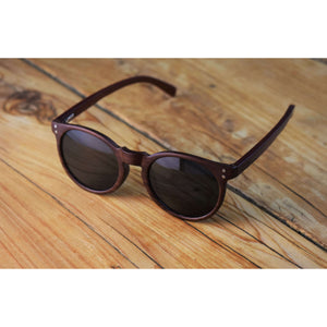 Wood Sunglasses - Henna: Vilo