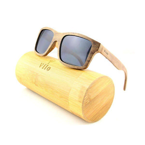 Wooden Sunglasses - Indiana: Vilo