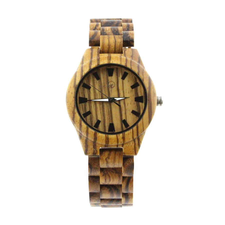 Vilo Womens Wood Watch // Carob: