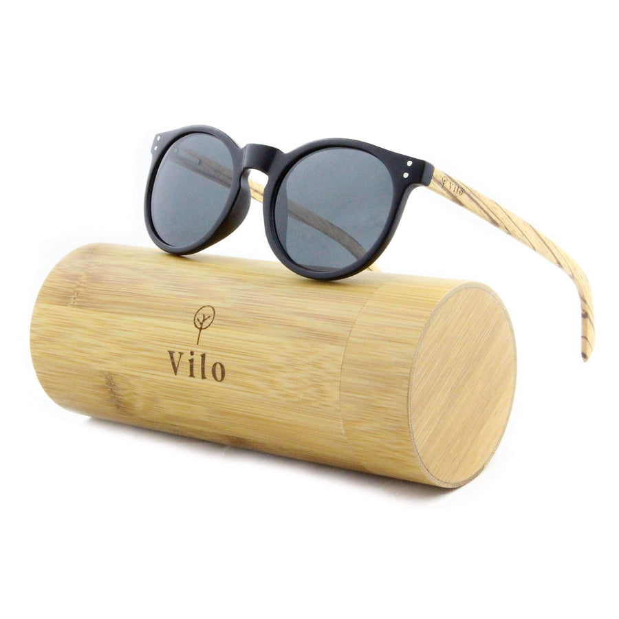 Vilo Wood Sunglasses - Urbanity: