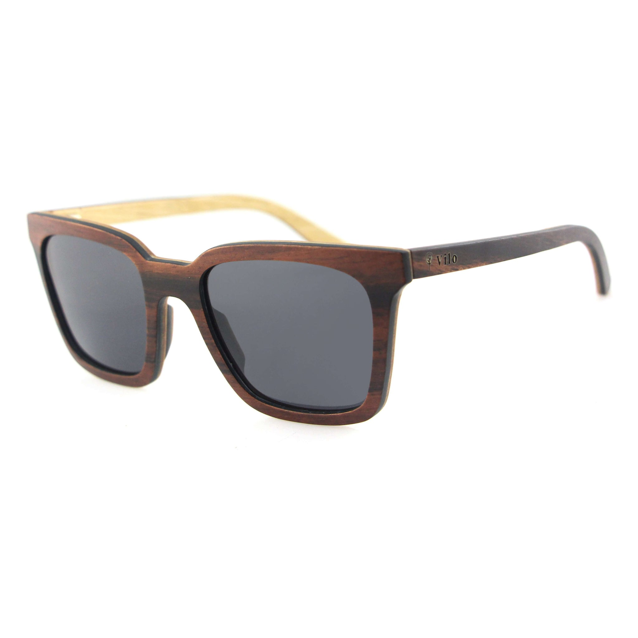 Vilo Wooden Sunglasses - Zephyr: