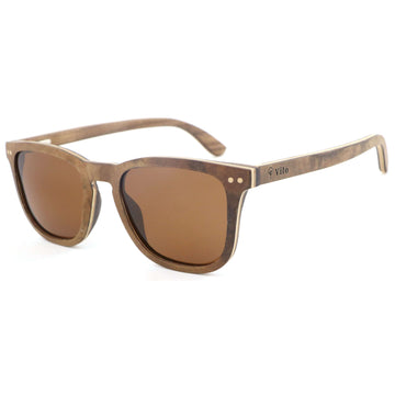 Vilo Angelou - Wooden Sunglasses: