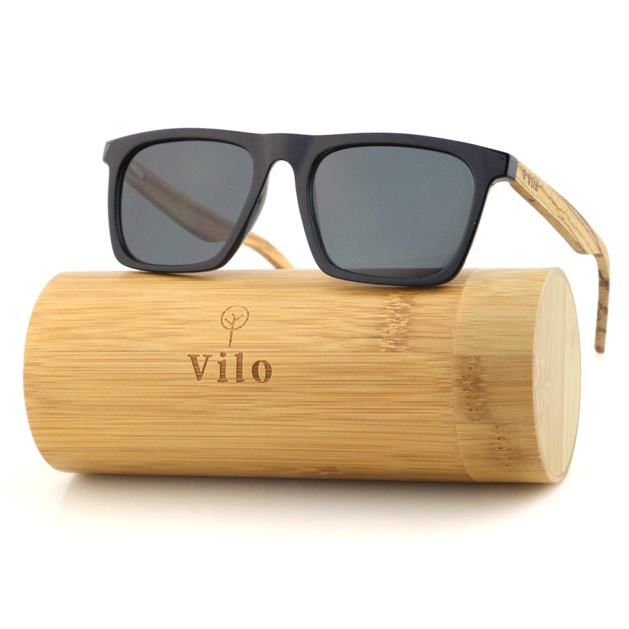 Vilo Harvey - Wooden Sunglasses: