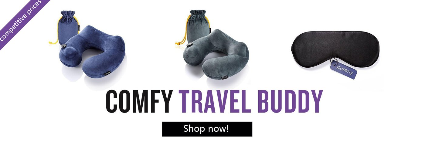 Purely travel pillow