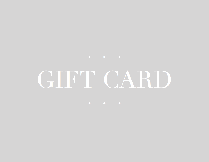 SaltRose Jewelry Gift Card