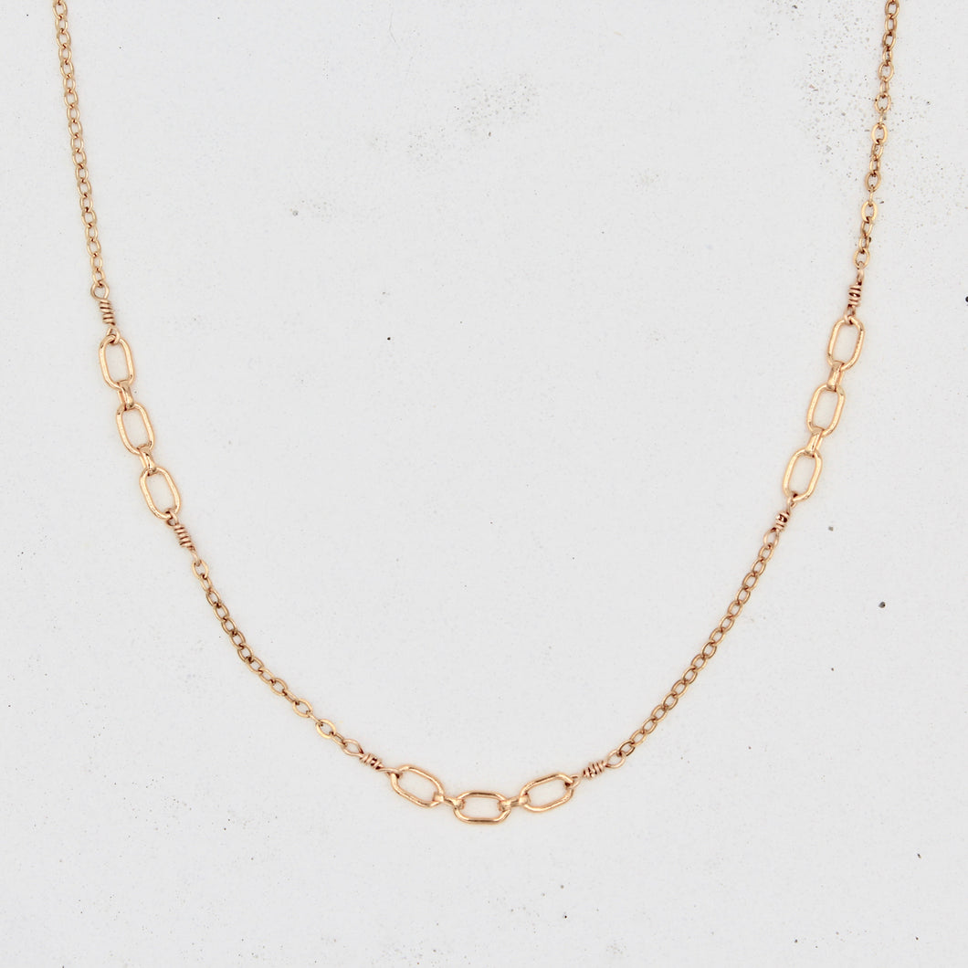 Uptown Mixed Chain Necklace