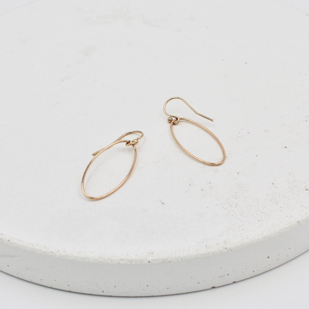 Mara Oval Earrings