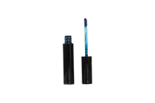 Lip Glaze Deep Blue Tube Open Doe Foot Applicator