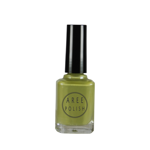 Key Lime Pie-muted green creme nail polish