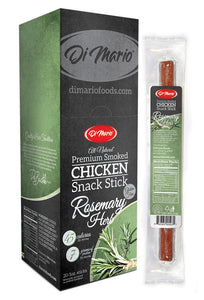 Rosemary Herb Premium Smoked Chicken Snack Stick
