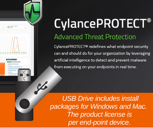 USB drive with CylancePROTECT (Annual license)