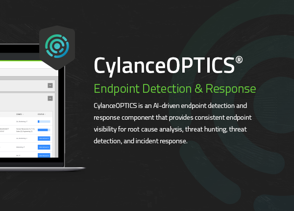 CylancePROTECT + OPTICS™ AI EDR - Detection & Response (year subscription)