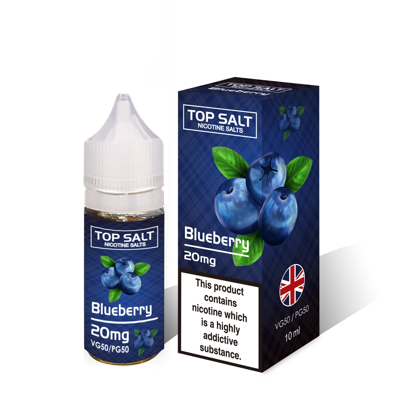 Blueberry nic salt