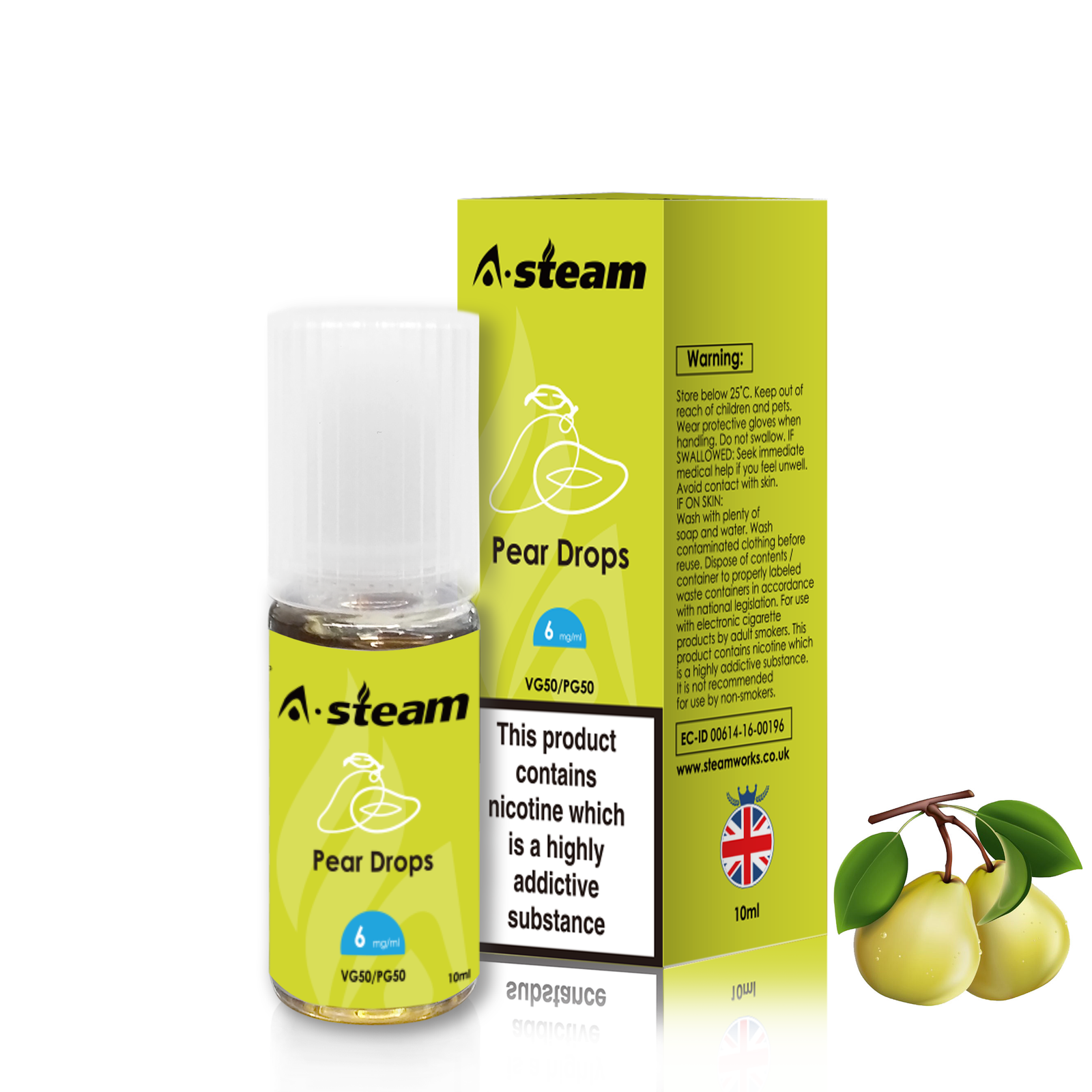 A-STEAM Pear Drops