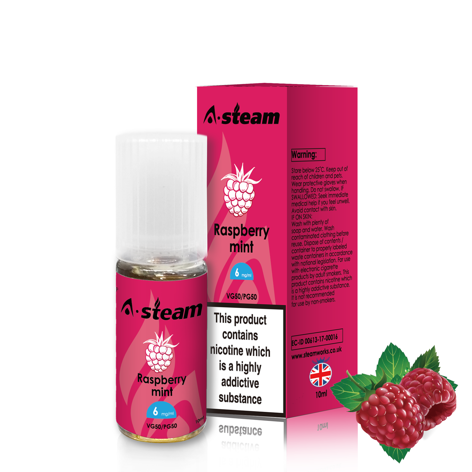 A-STEAM Raspberry Mint