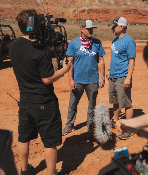 Blue Coolers on Discovery Channel