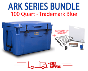 Blue Coolers 2.0 - 100 Quart Starter Bundle - Accessories