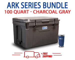 Blue Coolers 2.0 - 100 Quart Ark Series Bundle