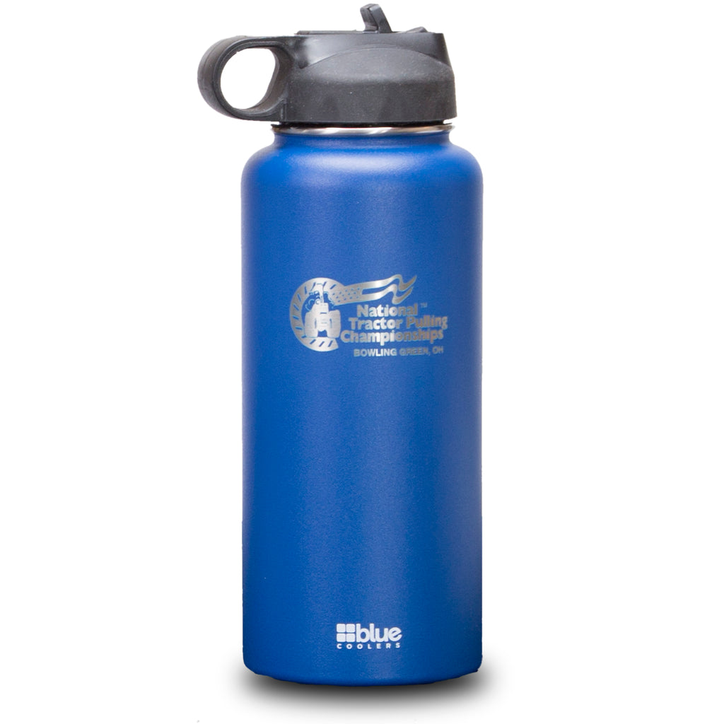 NTPC Customized - 32 oz. Steel Double-wall Vacuum Insulated Flask (Flip Top Lid)