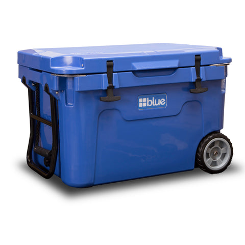 NTPC Customized - 55 Quart Ice Vault Cooler (w/ Wheels) from Blue Coolers