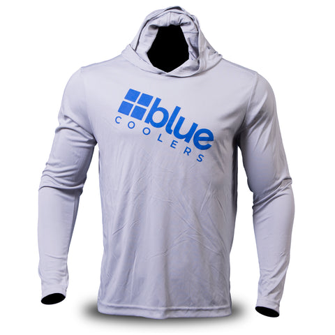 Apparel - Blue Coolers Performance Shirt (Gray)