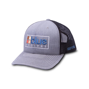 Apparel - Blue Coolers Multi-Color Logo Trucker Hat