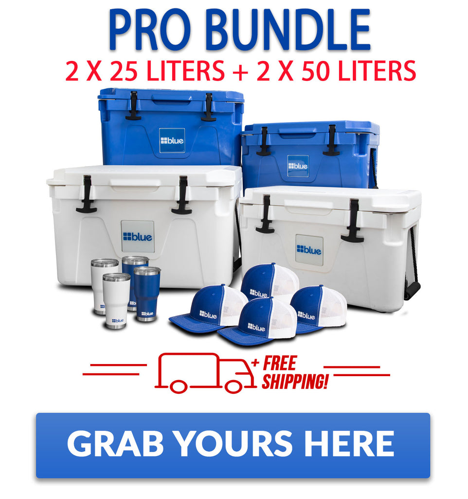 Blue Coolers Pro Bundle