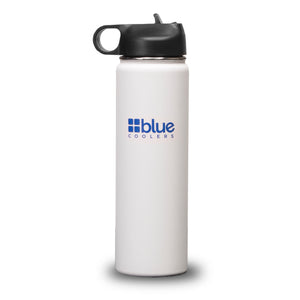 Drinkware - 20 oz. Steel Double-wall Vacuum Insulated Flask (Flip Top Lid)