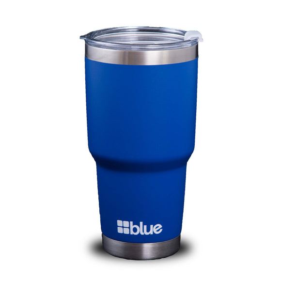 32 oz. Classic Steel Insulated Tumbler -  Blue Coolers