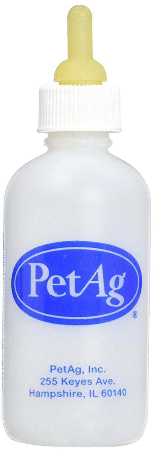 PetAg Nurser Bottle for Smaller Baby Animals - 2 oz.
