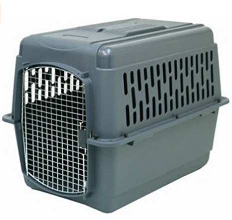 (AK, HI, PR Only) Aspenpet Pet Porter Kennel, For Pets (70-90 lbs.)