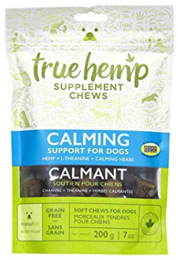 True Leaf Pet 40 Count Hemp Chews for Dogs (Calming)