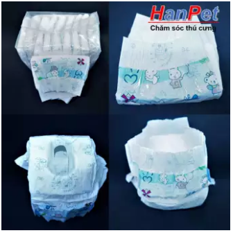 10 pieces of diaper pants from 6-16kg super absorbent (hanpet 395c)