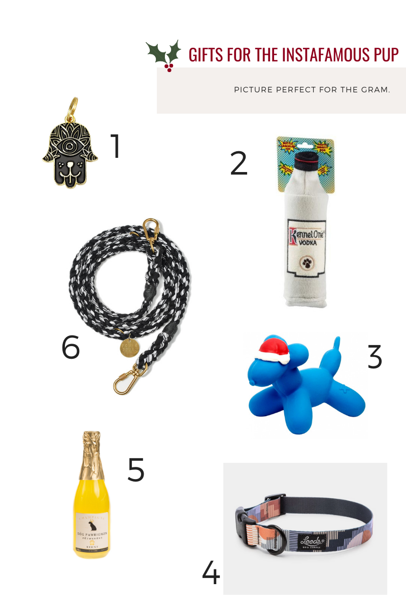 Gifts for the Instafamous Pup Hunter & June Holiday Gift Guide 2019