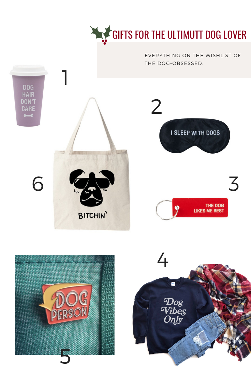 Gifts for the Ultimutt Dog Lover Hunter & June Holiday Gift Guide 2019