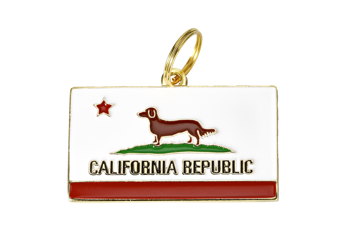 California Republic Charm/ID Tag - Hunter & June
