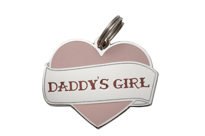 Daddy's Girl Charm/ID Tag - Hunter & June