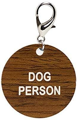 Dog Person Keychain