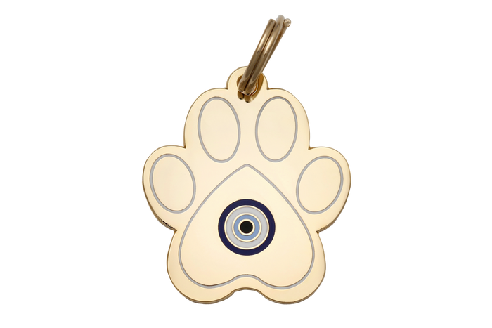 Evil Eye Paw Charm/ID Tag - Hunter & June