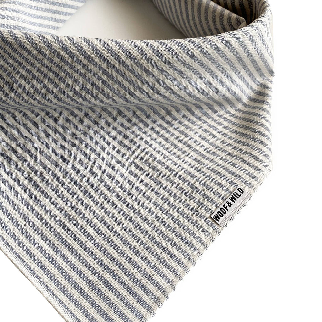 Grey Stripe Bandana