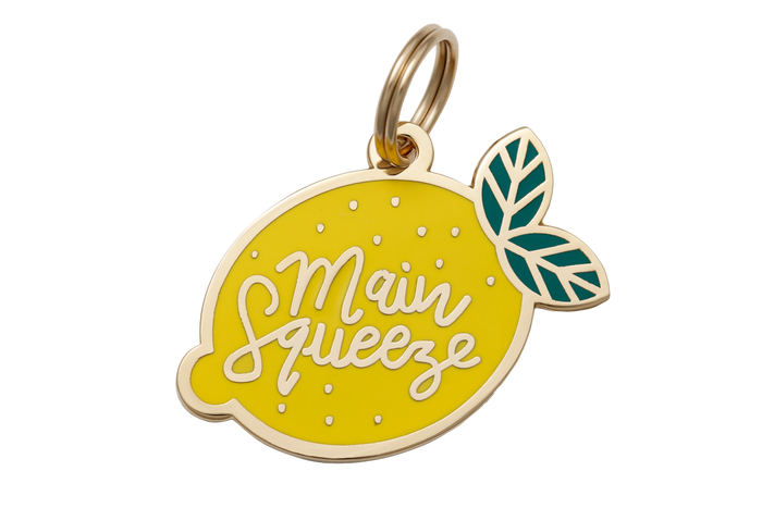 Main Squeeze Charm/ID Tag - Hunter & June