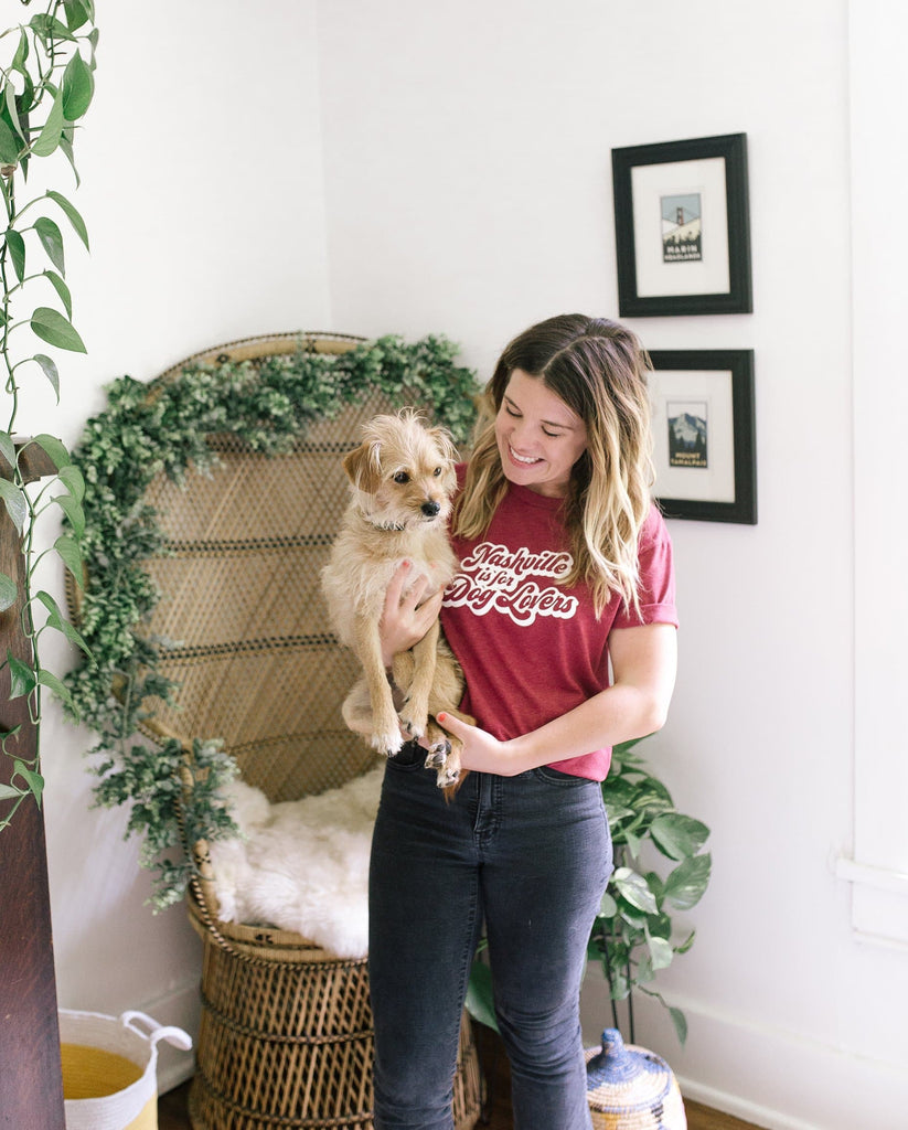 Nashville is for Dog Lovers Tee