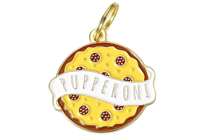 Pupperoni Charm/ID Tag - Hunter & June