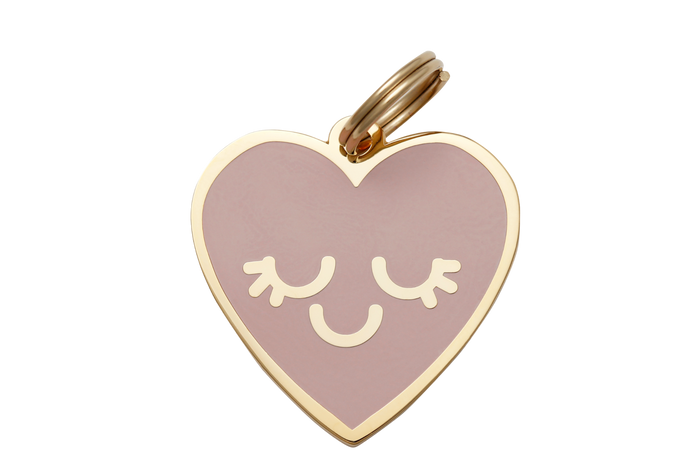 Smiling Heart Charm/ID Tag - Hunter & June