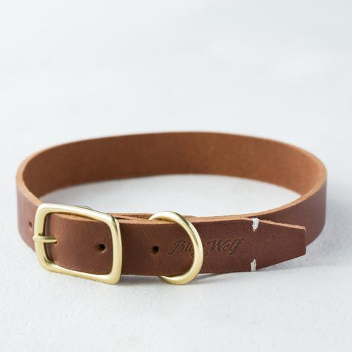 Terra Rambler Leather Collar - Hunter & June