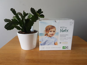 Naty Sensitive Wipes (Unscented)